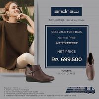 Andrew Shoes Promo Diskon 50%