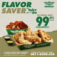 Wingstop Promo Flavor Saver On Take & Go