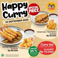 Hokben Promo Happy Curry
