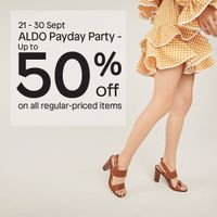 Aldo Payday Party Discount Up To 50% Off